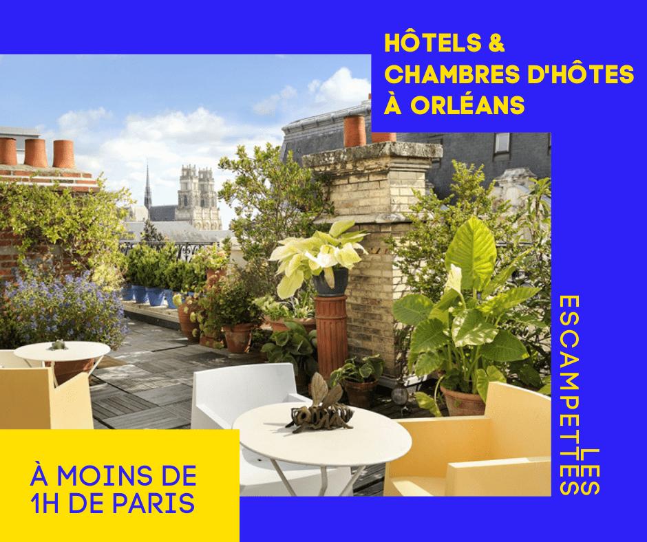 hôtels à Orléans