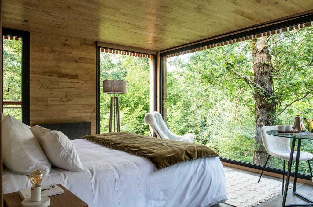 hotel-instagrammable-2h-paris-Loire-Valley-Lodges
